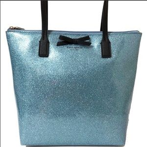 Excellent Condition!!! Sparkly Blue Kate Spade Bag
